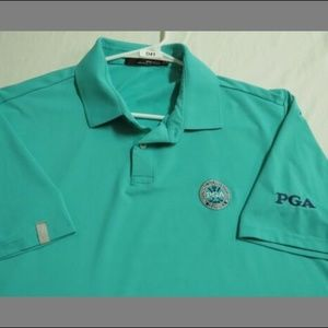 Sz XL RLX Ralph Lauren PGA Tour Men #D41 Golf Polo